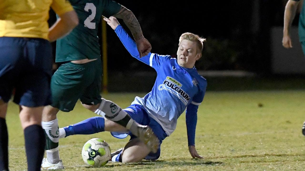 Bluebirds United beat reigning champions Frenchville 1-nil at Ryan Park on Saturday. Photo Jann Houley