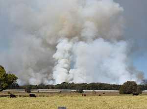Smoke around Broadwater looks bad, but it's a burn off