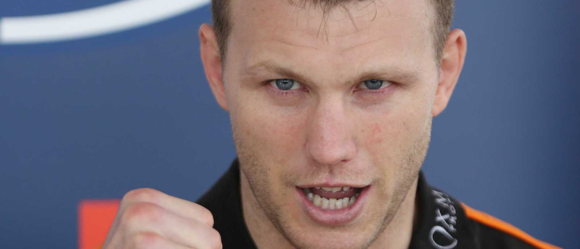 Jeff Horn will be in the fight of his life when he goes up against Tim Tszyu but he's also battling to make the finals of the Brisbane Portrait Prize.