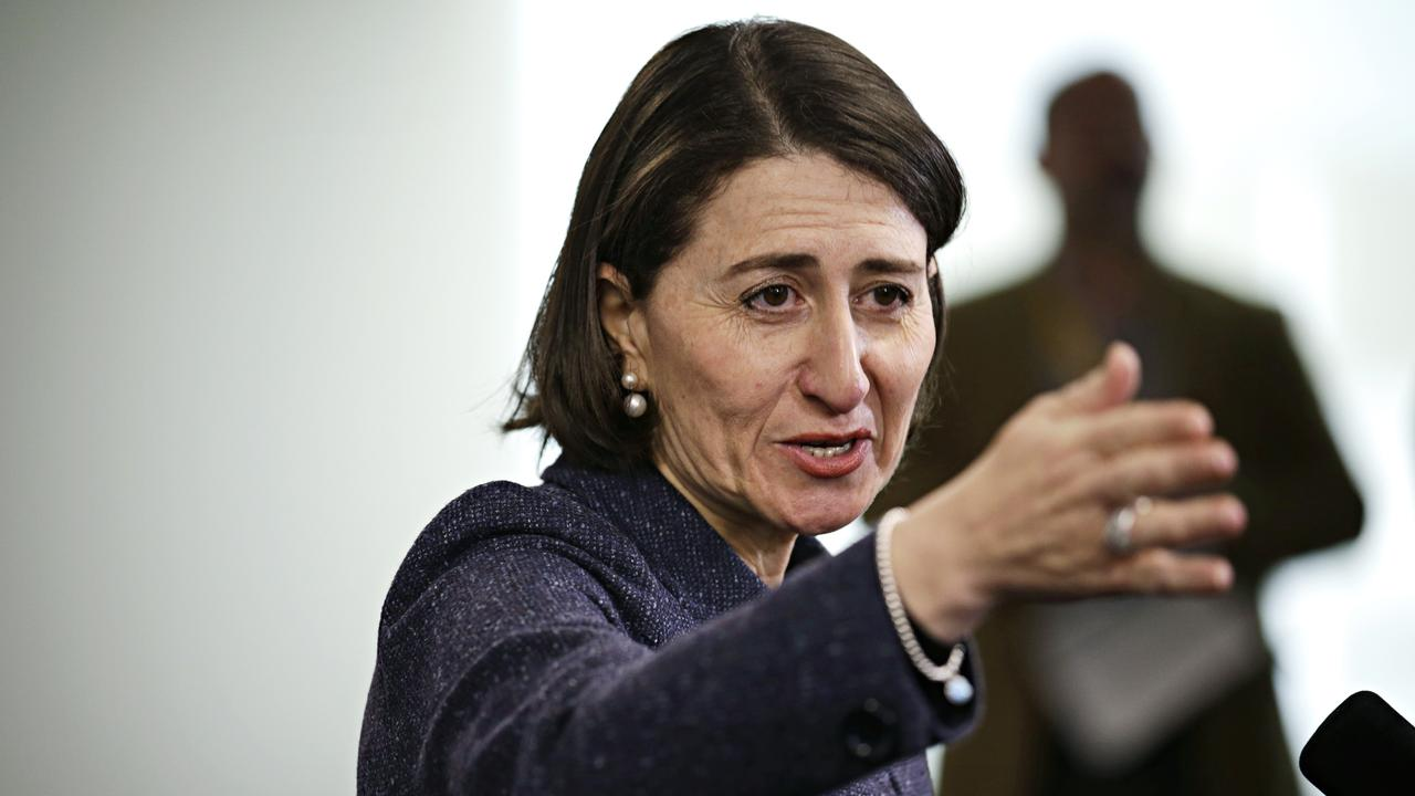 NSW Premier Gladys Berejiklian says the police train all quarantine hotel security guards. Picture: Adam Yip