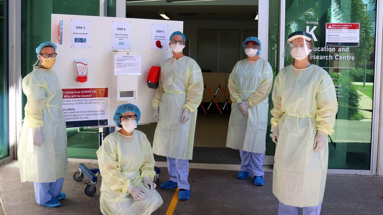 Mackay Base Hospital Emergency Department staff.