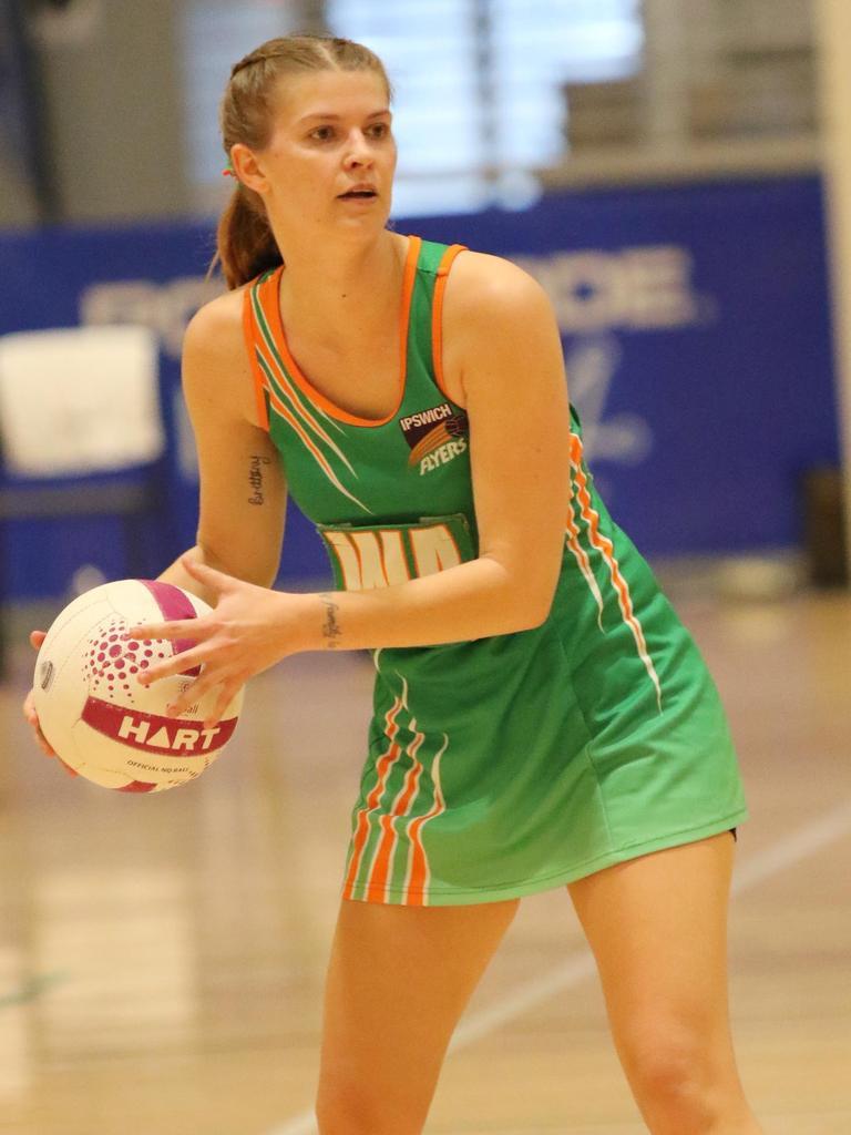 Flyers netballer Tara Bramwell