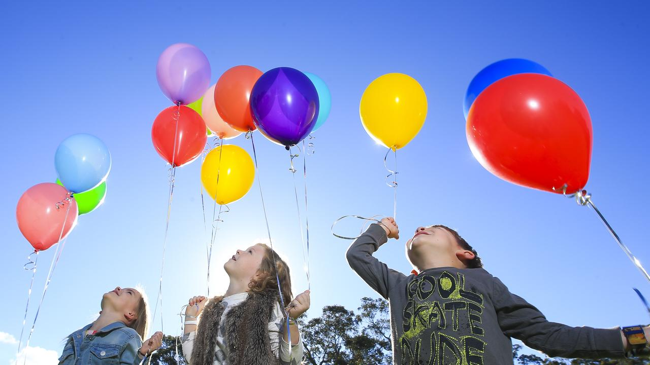 Ballina Shire Council will discuss helium balloons and their environmental concerns. Picture: Dylan Robinson