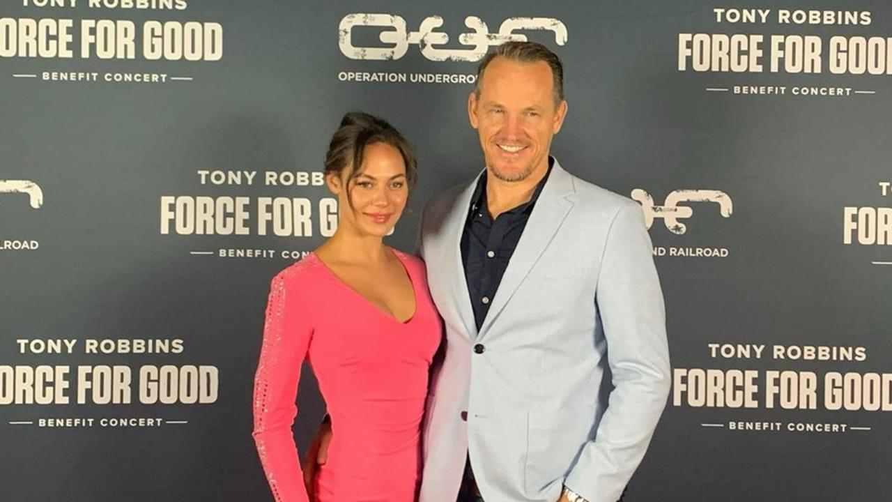 Former Miss Earth Australia Nadine Roberts and her partner Jamie McIntyre. Source – https://www.instagram.com/lifewithnadine/