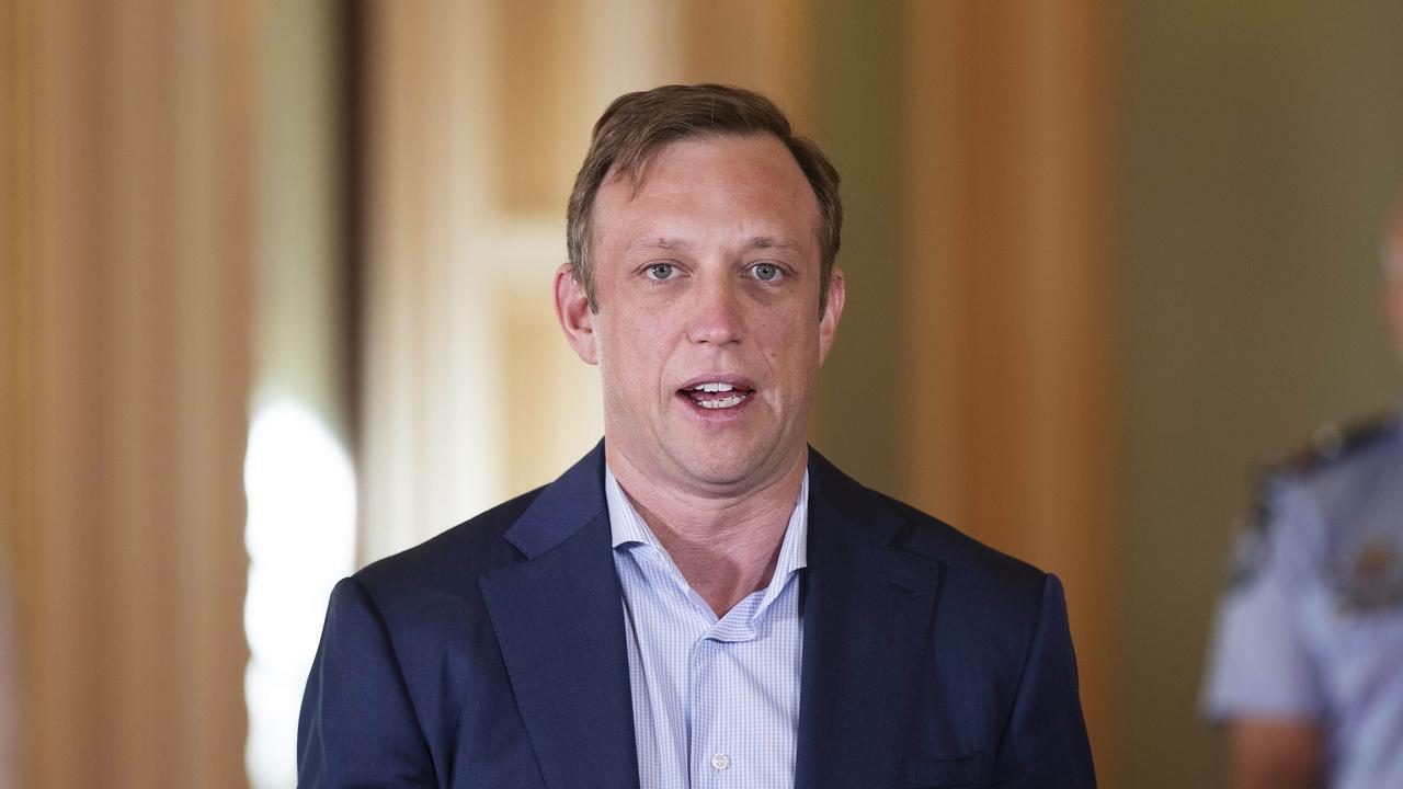 Deputy Premier and Health Minister Steven Miles. Picture: Attila Csaszar.