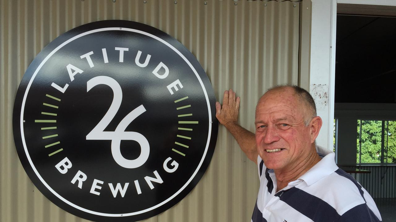 Graham Kidd is almost ready to throw open the doors to Latitude 26 Brewing