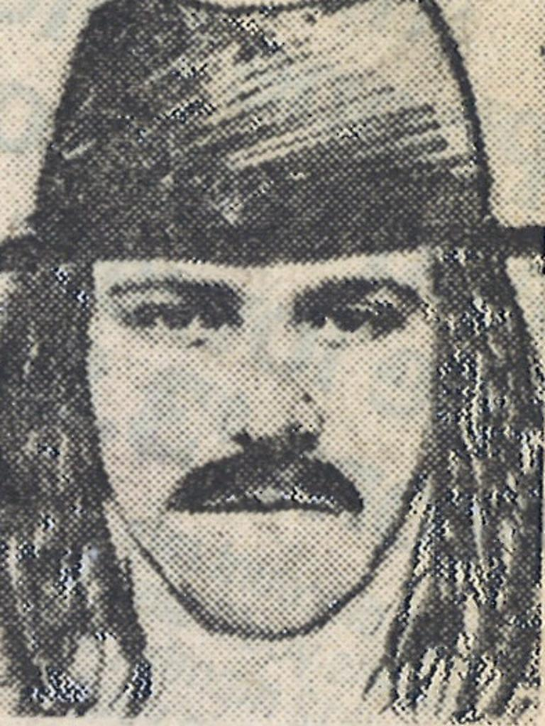 A police identikit of the killer.