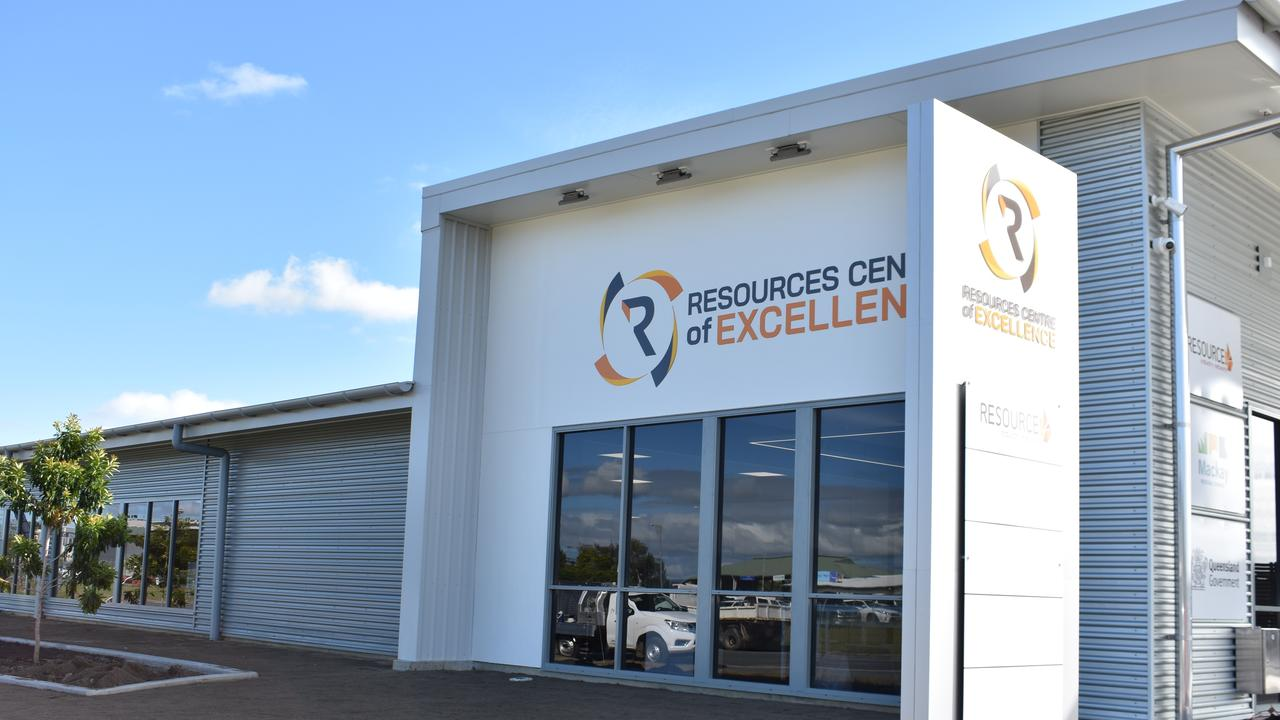 The $7.5 million Resources Centre of Excellence was completed last financial year. Picture: Melanie Whiting