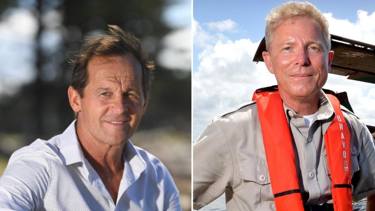 WILL THEY MEET? Cr Terry Landsberg, left, and Paradise Seaplanes' Shawn Kelly.