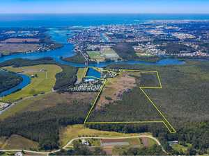 Huge waterfront development site, resort hit market