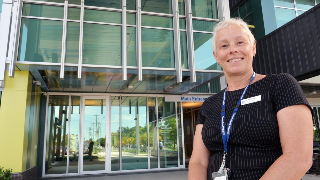 Mackay Hospital and Health Service chief executive Jo Whitehead. Picture: Tony Martin