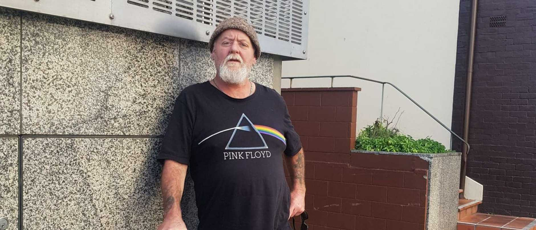 Disability pensioner Scott Wayne Moore planned to dump eight tonnes of cow manure outside outside the office of a state premier.