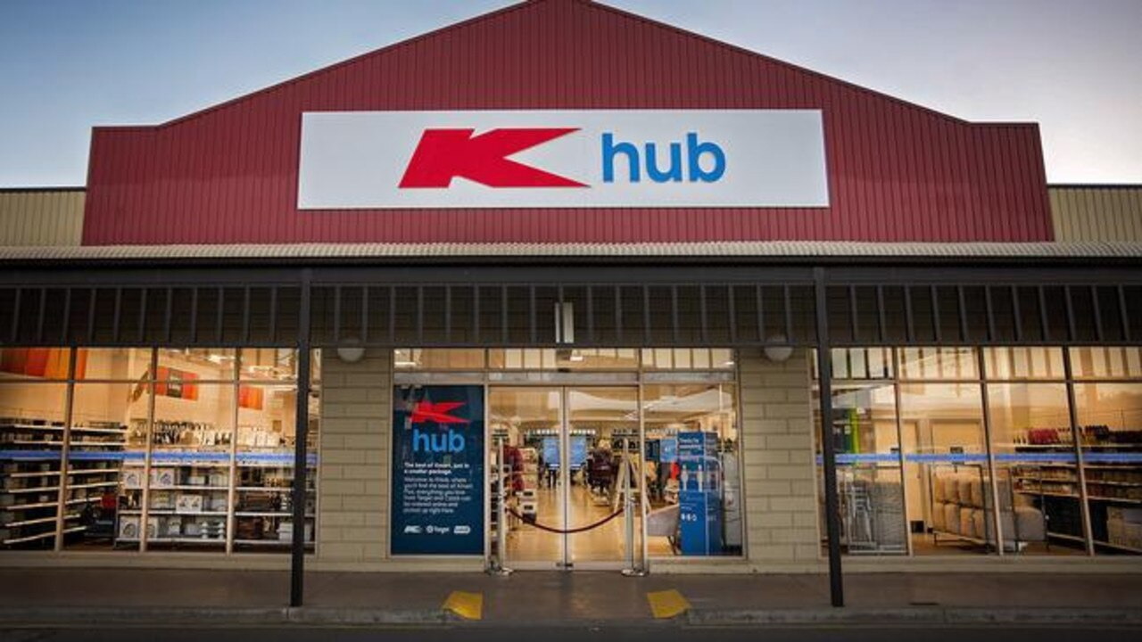 Kmart introduces new 'K Hub' stores to replace Target outlets. Source: Supplied
