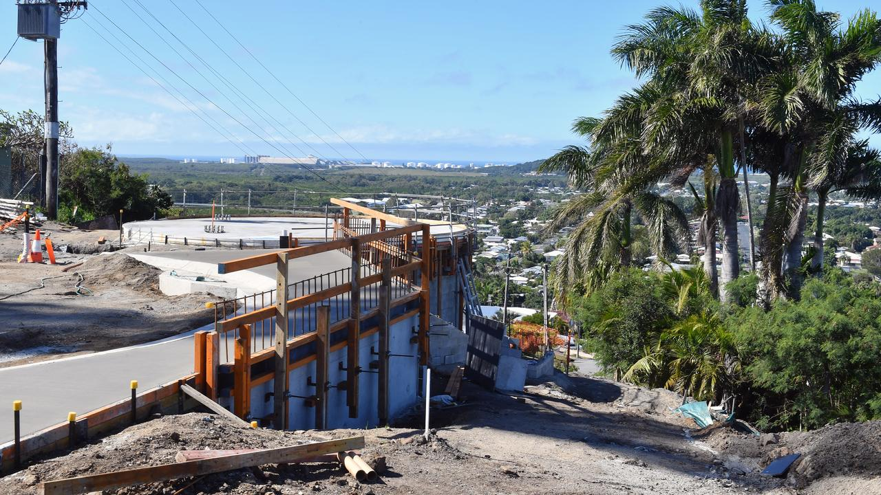 Update on the North Mackay Rotary Lookout. Picture: Tony Martin