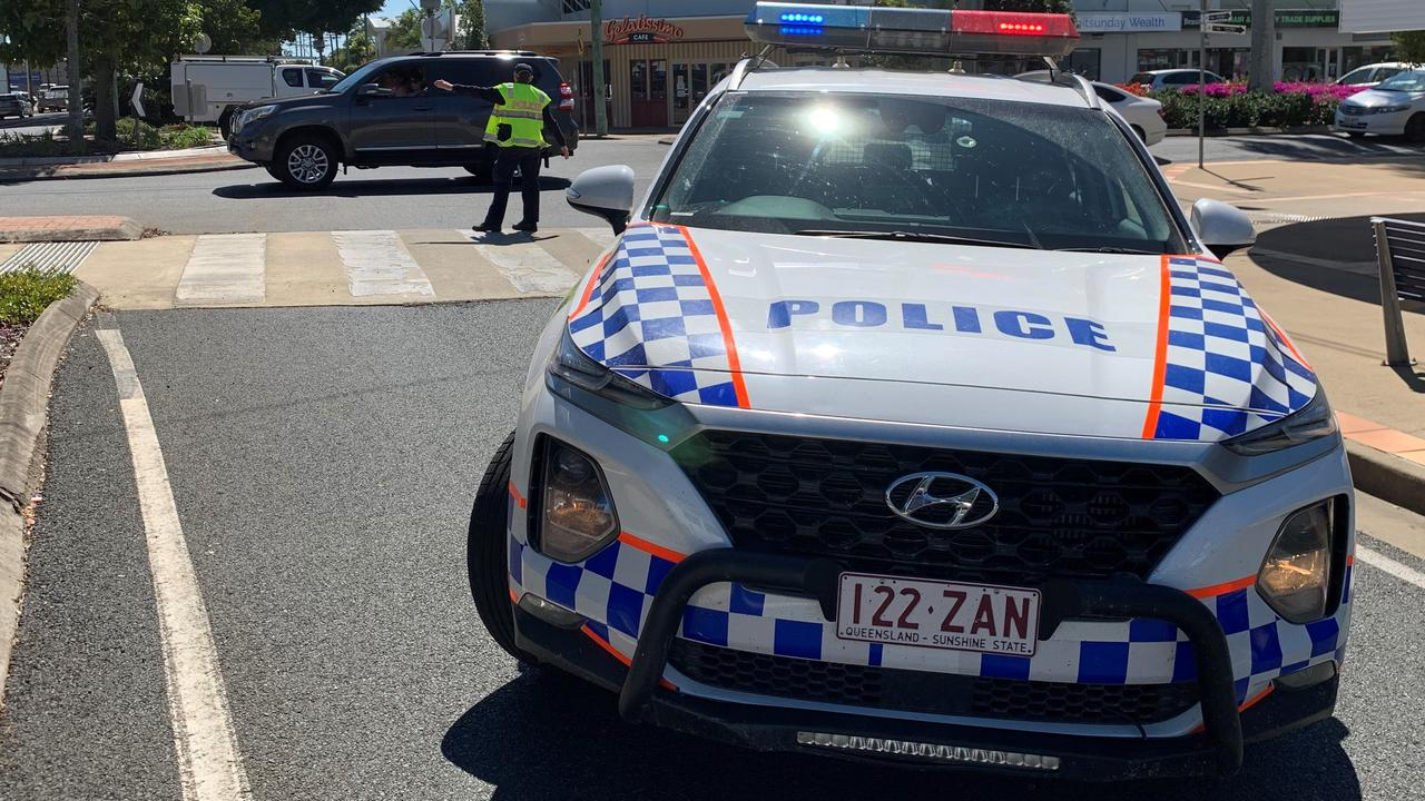 Police were called to an incident at a Rockhampton CBD bank this afternoon.