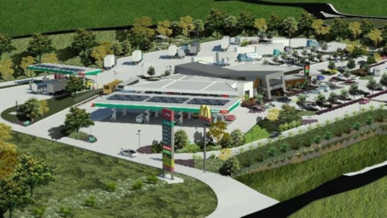Artists' impression of the finished development.
