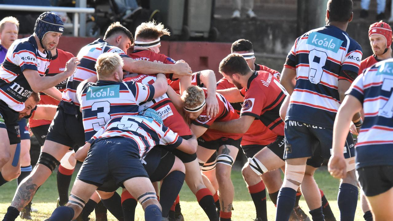 DAZZLING WIN: In rugby union on round 6 held on AUGUST 22, 2020, Wollongbar comprehensively defeated Bangalow 29-15. Photo: Vicki Kerry