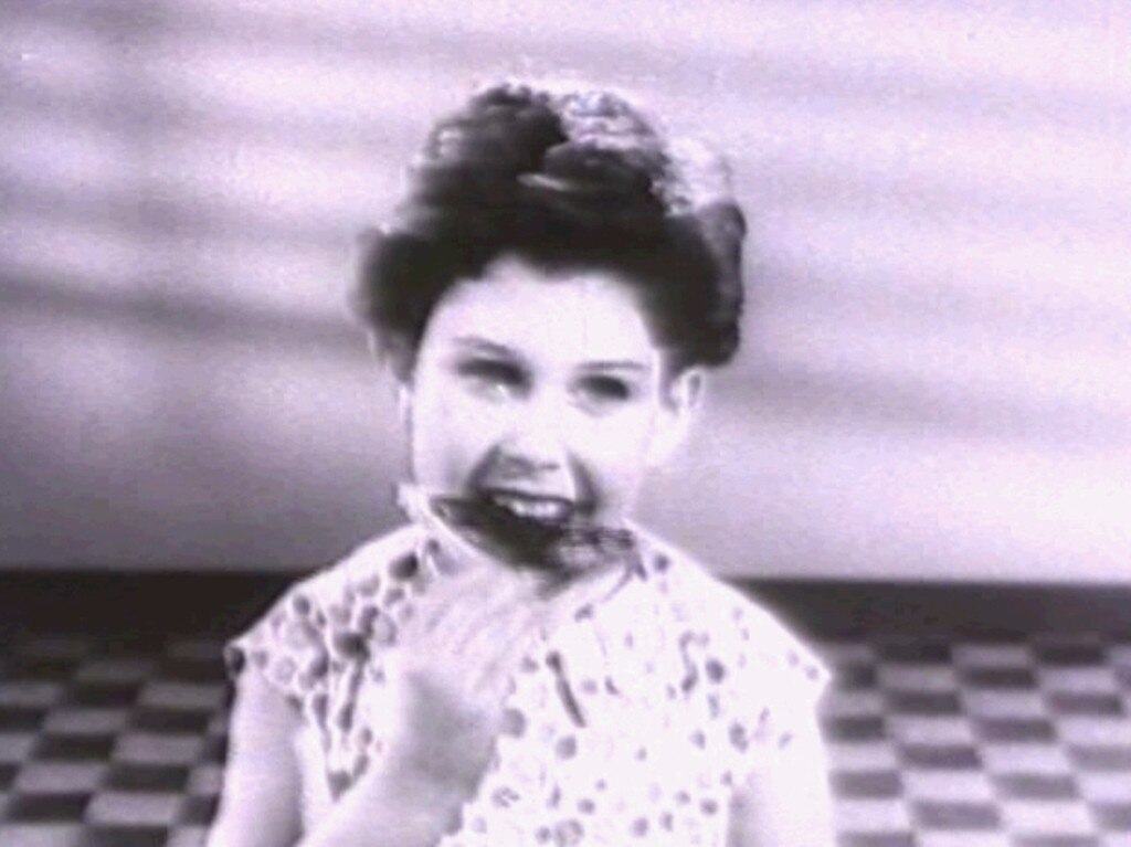 Trish Cavanagh in the original Happy Little Vegemites commercial. Picture: Supplied