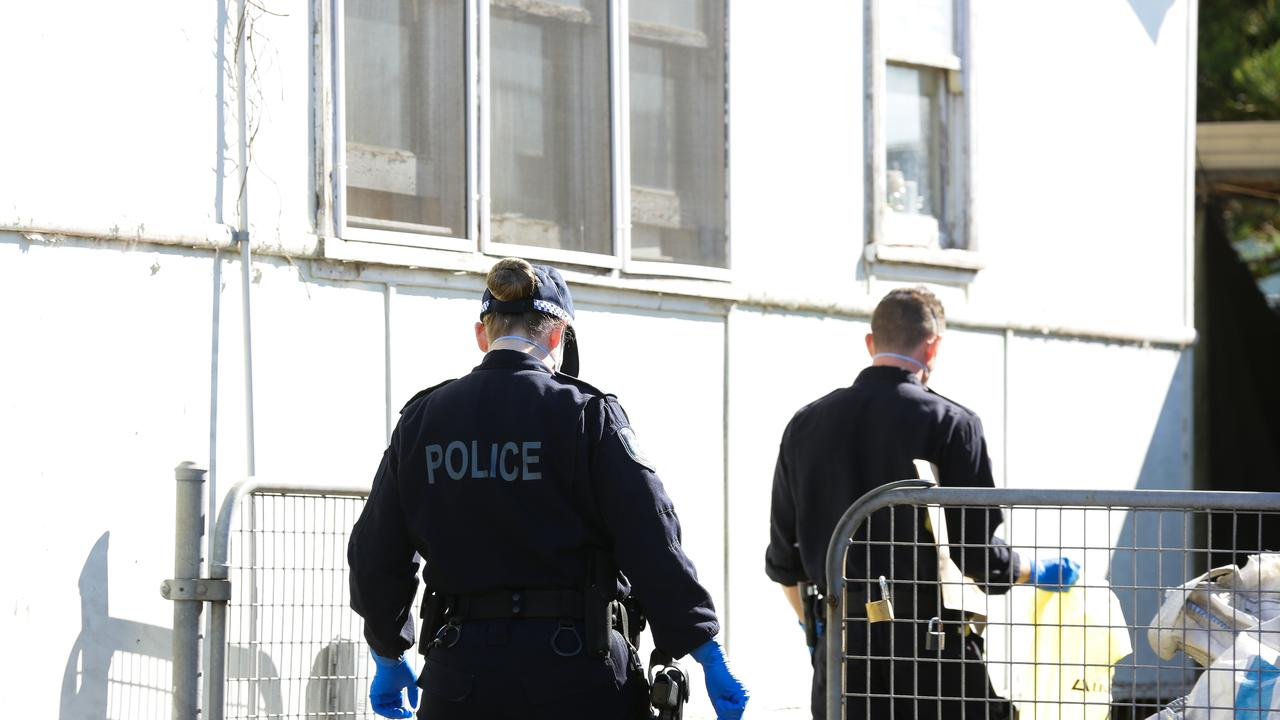 Two men were allegedly stabbed in the neck in Sydney's west on Monday. Picture: NCA NewsWire/Gaye Gerard
