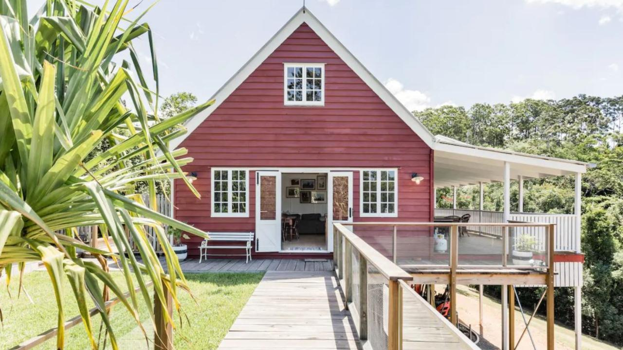 Doonan's Little Red Cabin has won the hearts of Australian travellers, voted third highest wish-listed property in the country.
