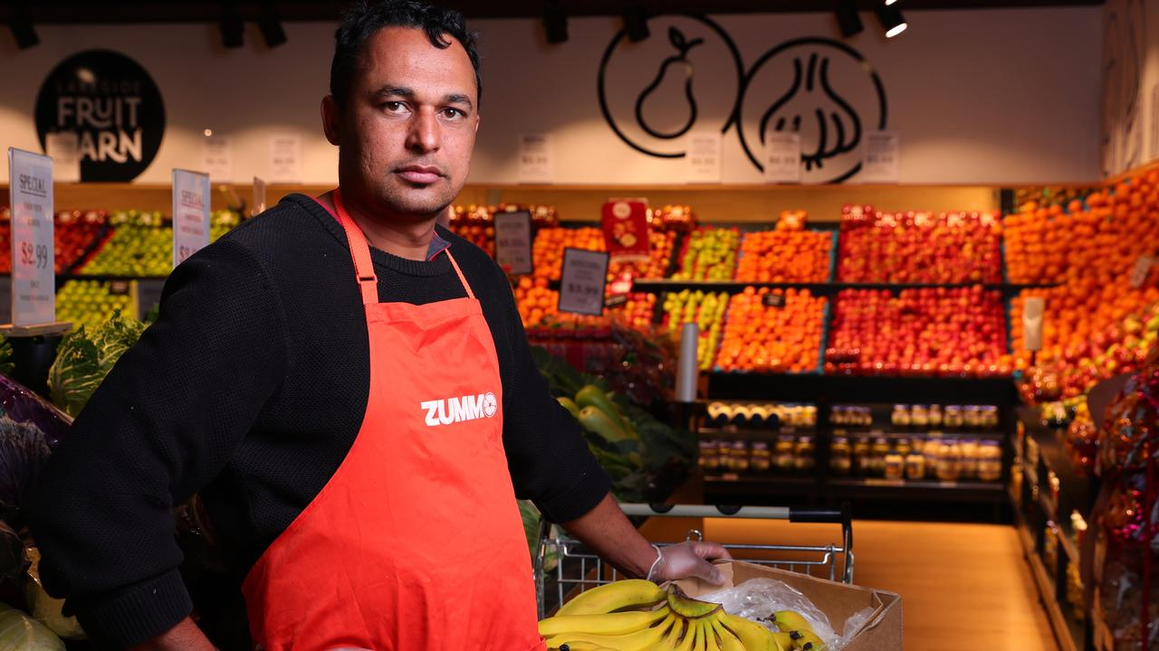 Lakeside Fruitbarn Owner Jack Singh says he has lost 90 per cent of business after being named on the COVID contact tracing list. Photo Lachie Millard
