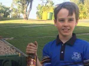 Generous Gympie boy's remarkable $5000 donation