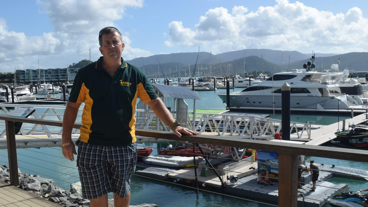 Apollo Whitsundays owner Rick Mark said the best-case scenario would have been a moratorium on parking.