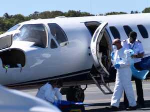 'Strict protocols' followed on Coast COVID flight