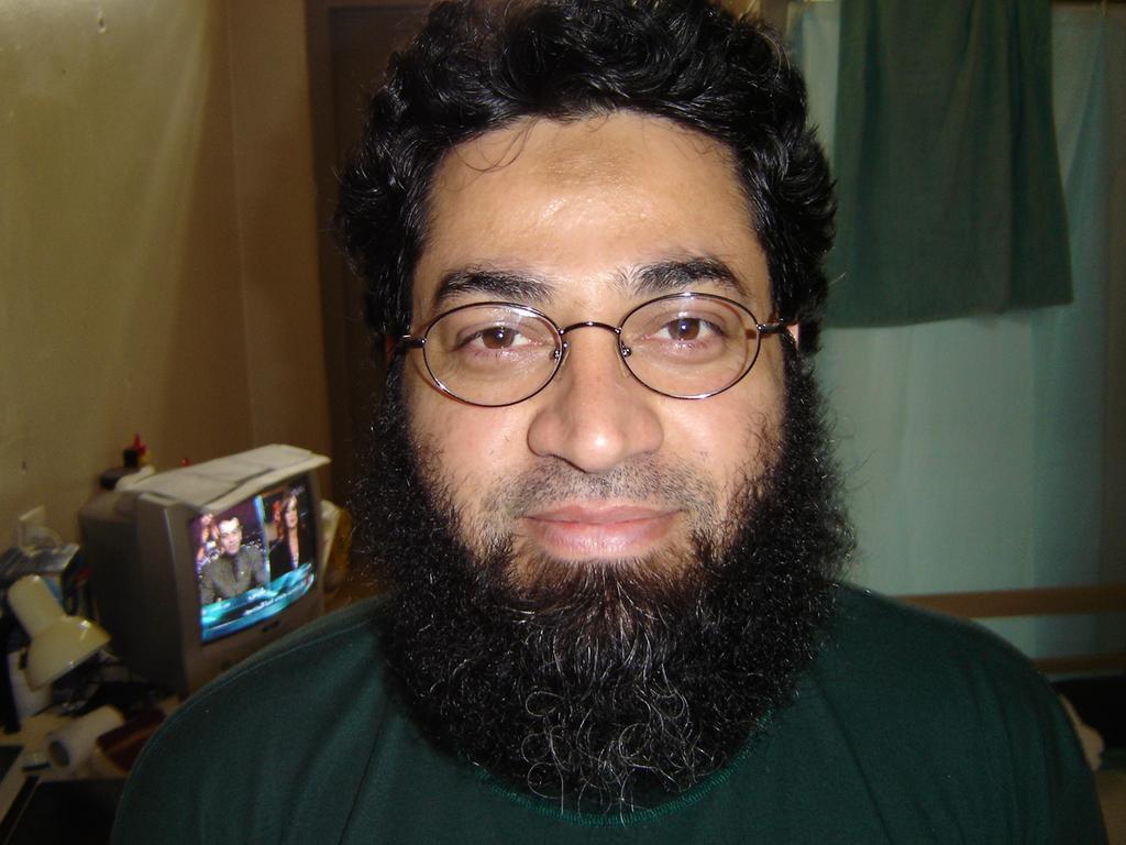 Faheem Lodhi in prison.