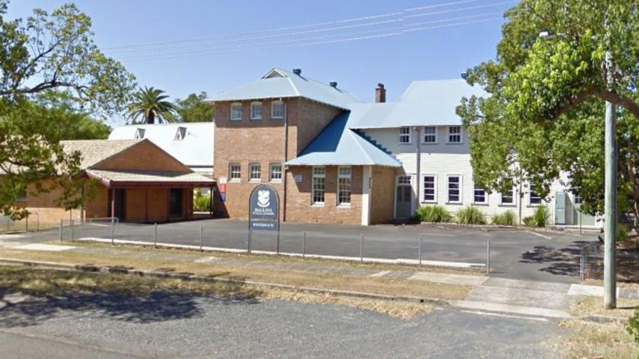 Ballina Public School went into lockdown for a short time on Monday.