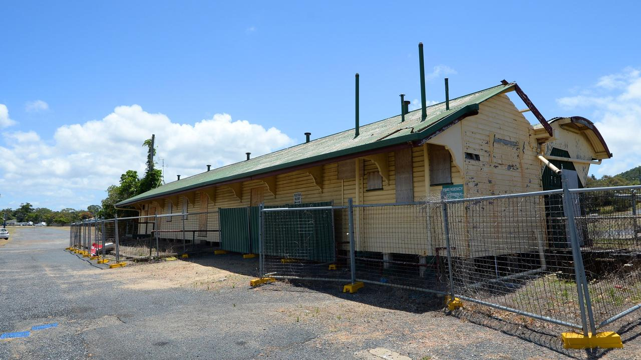 Crucial structural works at Yeppoon's old railway station are nearing completion.
