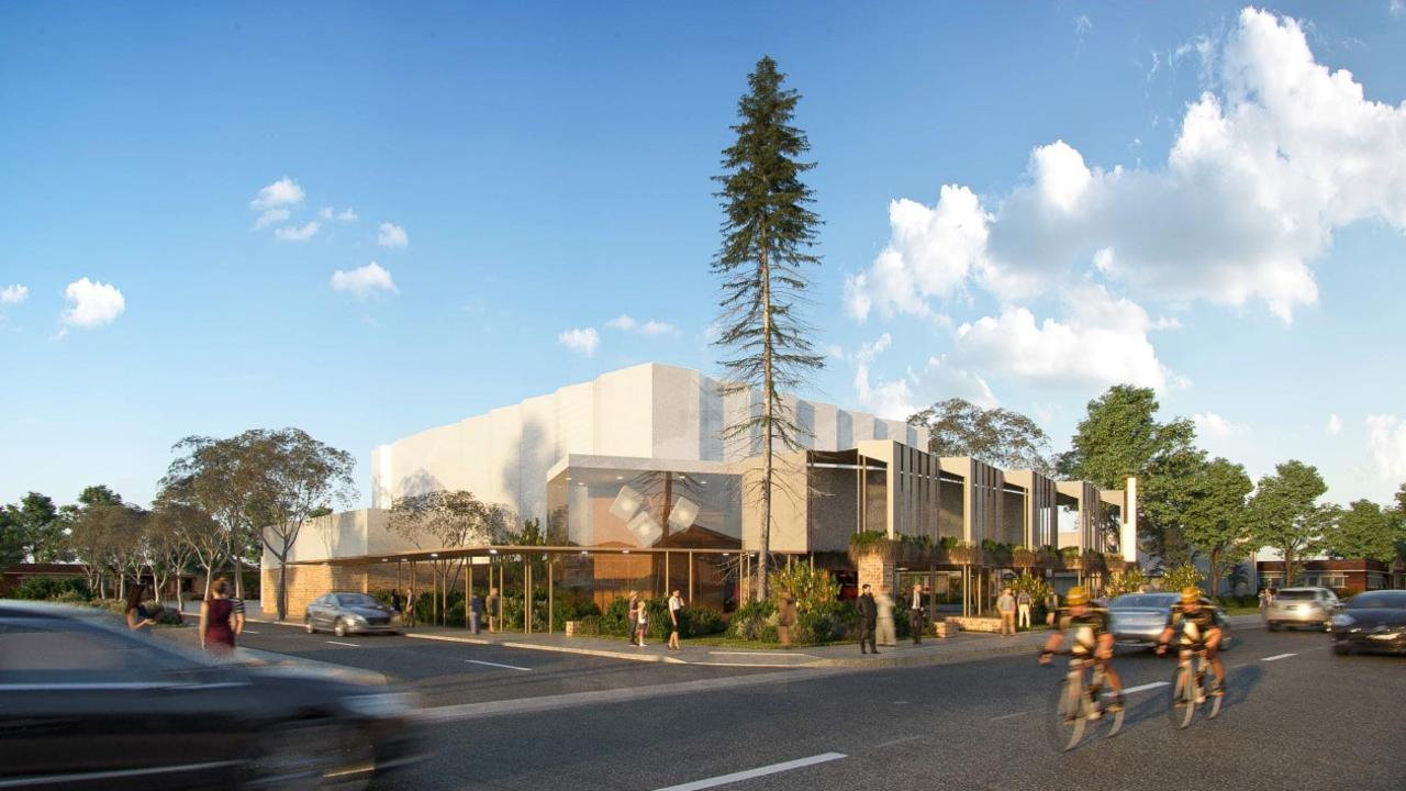 Impressions of the exterior of the new Proserpine Entertainment Centre.