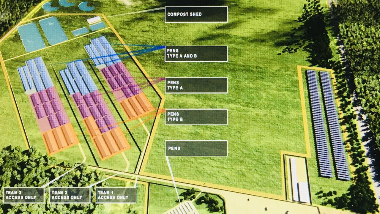 New crocodile farm. Darwin businessman Mick Burns is planning to spend $40 million on a new crocodile farm at Lambell's Lagoon Humpty Doo. Picture supplied