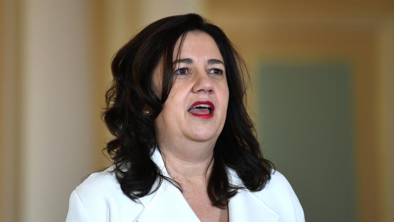 Queensland Premier Annastacia Palaszczuk. Picture: NCA NewsWire/Dan Peled