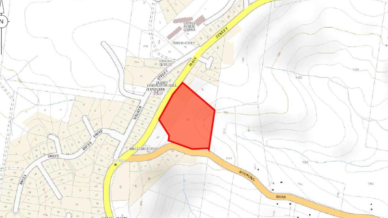 DA for new subdivision on Main St, Clunes.