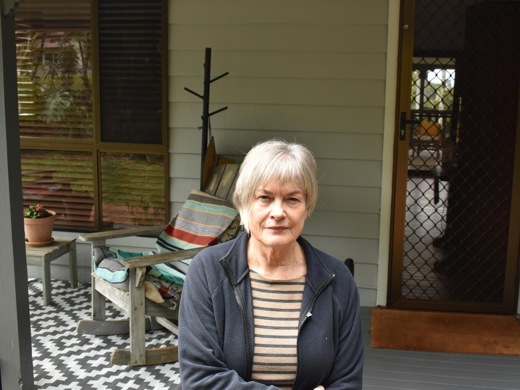 """Pamela Blacker says she has been left """"furious"""" after a roof painting job on her house in December"""