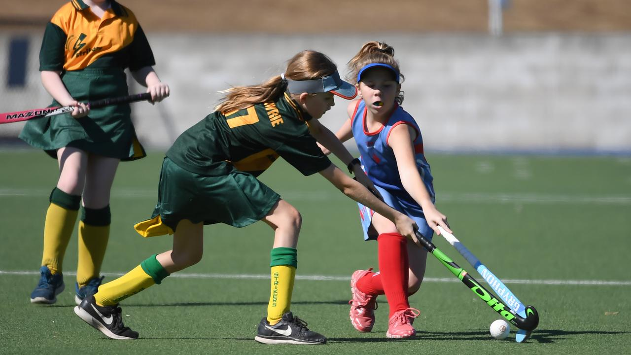 Hockey will be one of the sports played at the weekend.