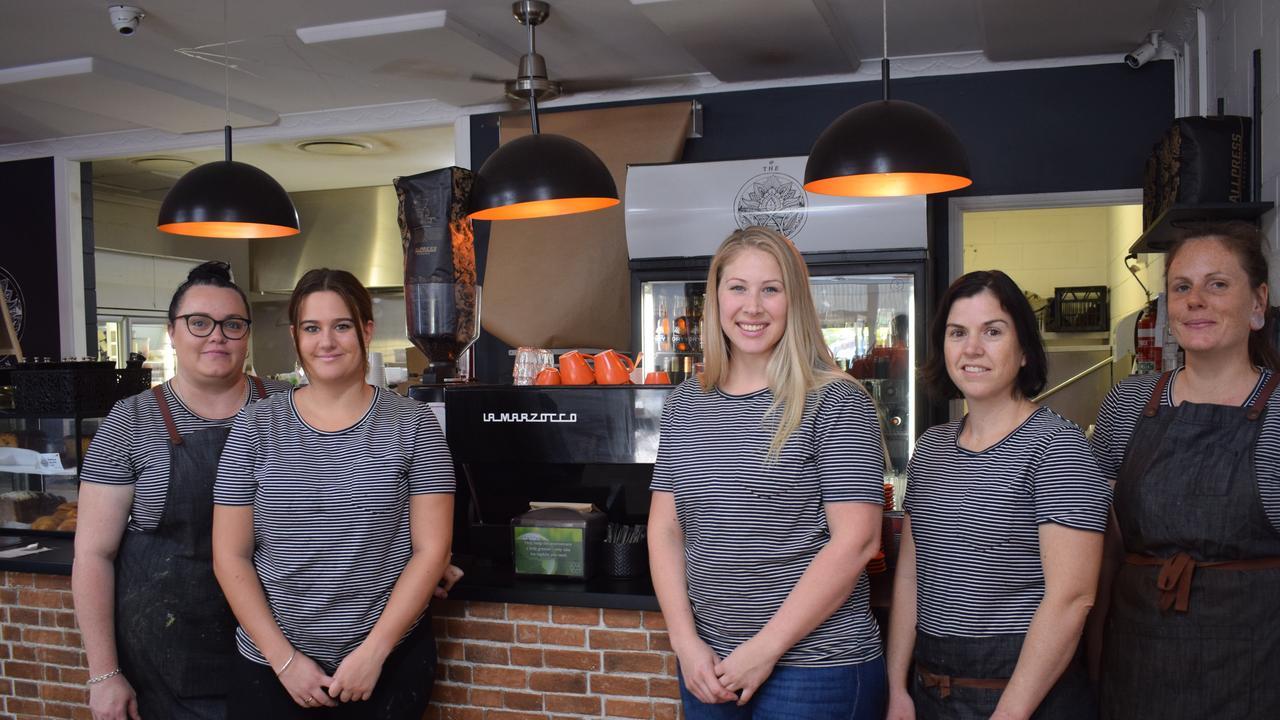 Christie Fraser, Imogen Ibanez, Jess Davies, Mel Smart and Jo Houlihan Junction Cafe wins best coffee in the region 2020