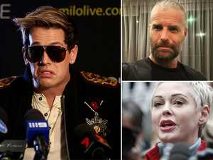 Celebrities 'banned' by social media
