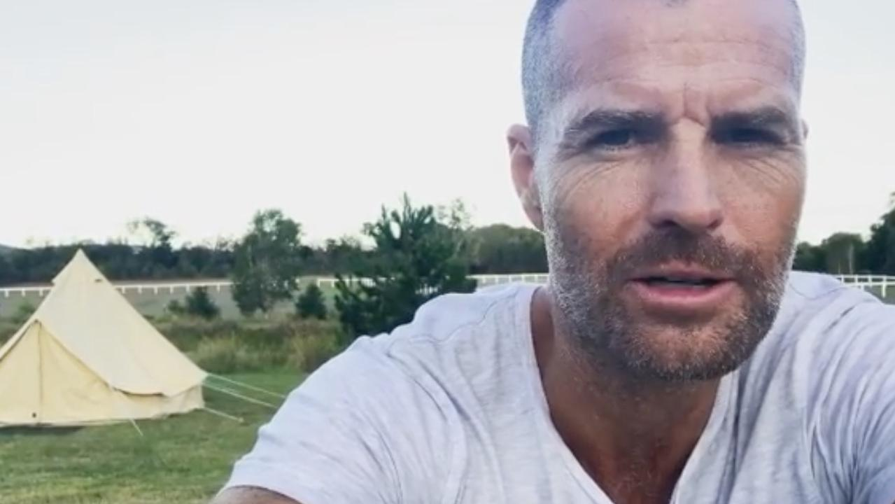 "Pete Evans has take to YouTube to extol the virtues of Nightcap living with its ""no 5G, no smart meters"" lifestyle. Picture: chefpeteevans/Instagram"