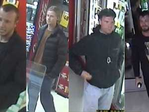 Cops search for men after bottle shop thefts