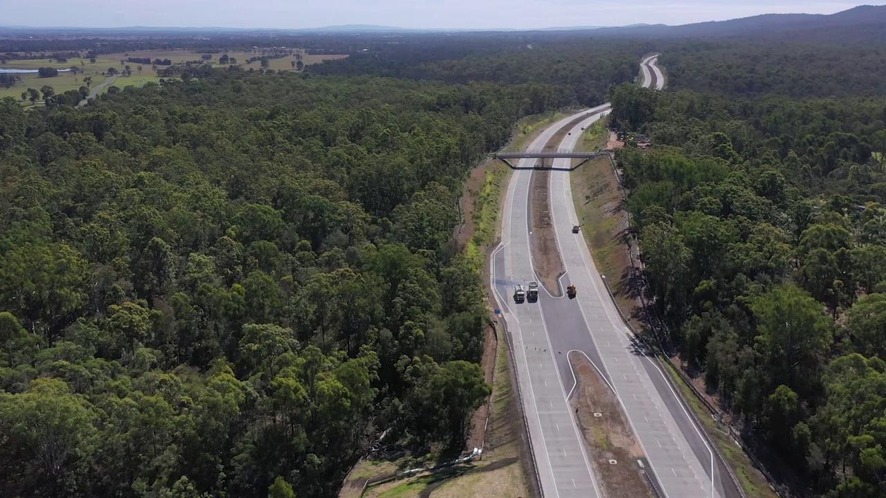 Another section of the Pacific Highway upgrade between is now complete and open to traffic.