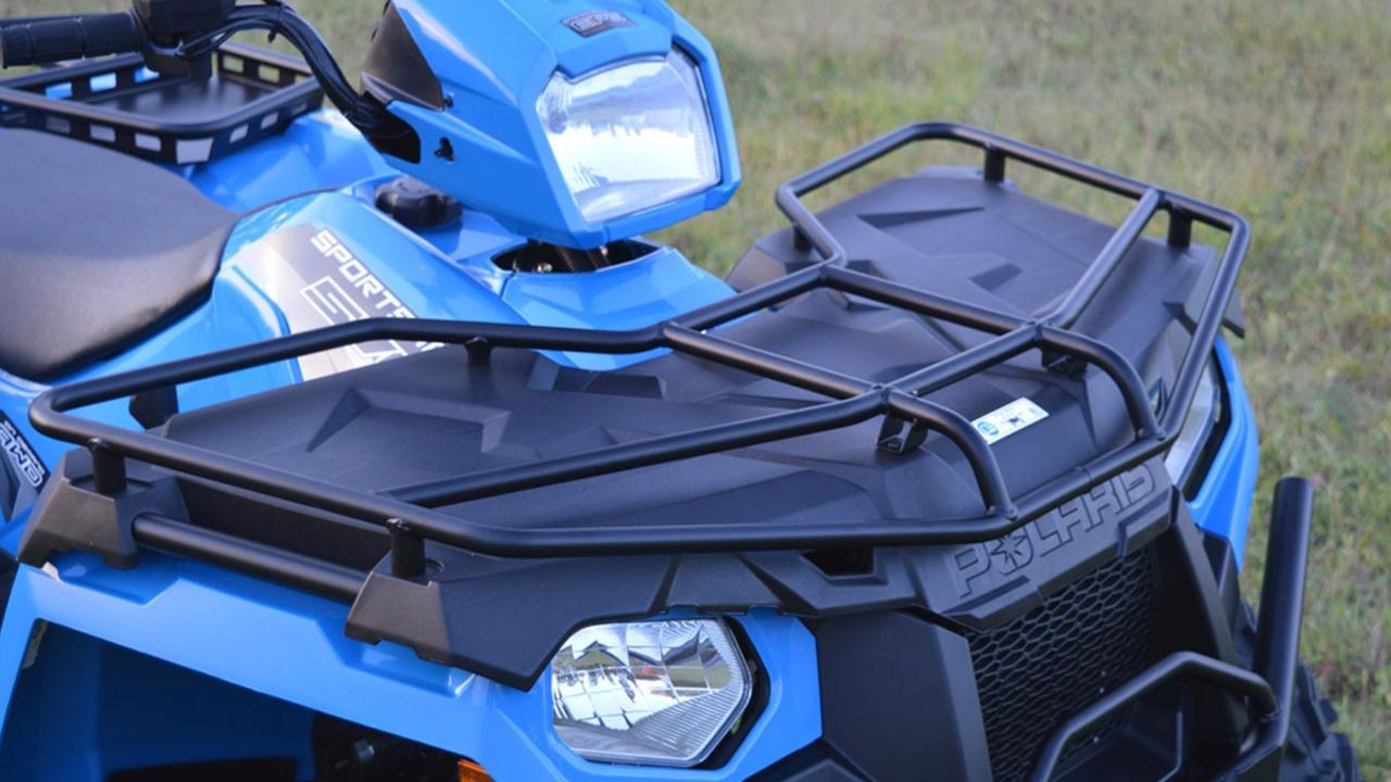 A drink-driver seriously injured his friend in an ATV rollover.