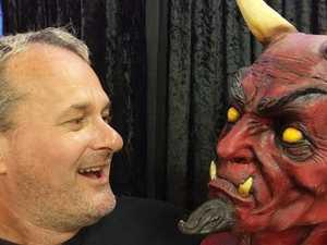Satanists summon the Dark Lord to Noosa