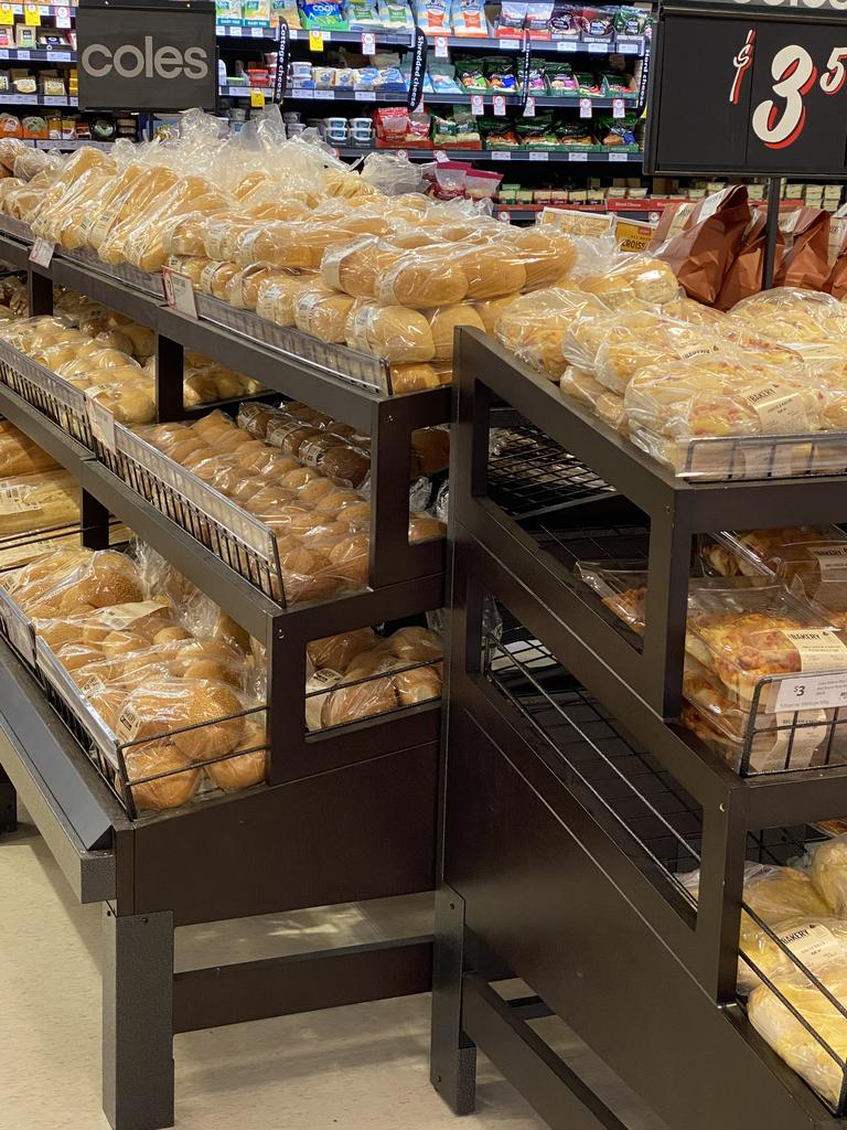 The new look bakery, with fresh bread delivered daily.