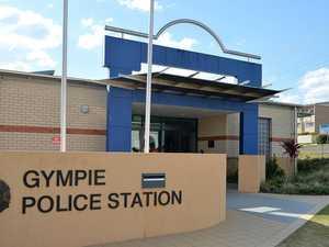 Man caught on CCTV smashing phone outside police station