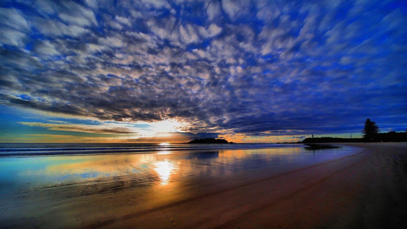 Plover Island Sunrise, Sandon River (Steve Ward)