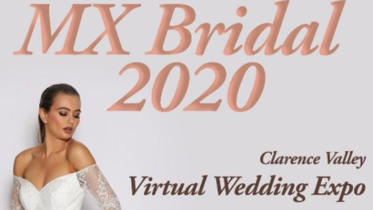 The Clarence Valley Virtual Wedding Expo will take place at www.mxbridal.com.au from August 28 to 30, 2020.