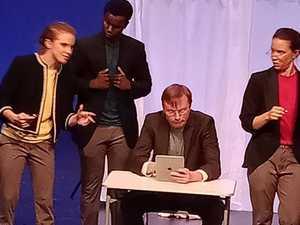 Queensland Theatre inspires CQU, high school students
