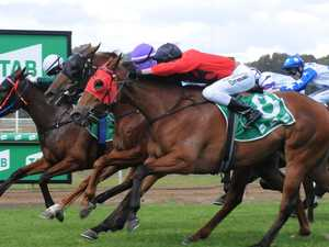Rising racing fortunes celebrated with three-way thriller